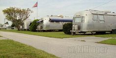 Photo by senim, via Flickr. The Airstream park used to be across the Melbourne airport.