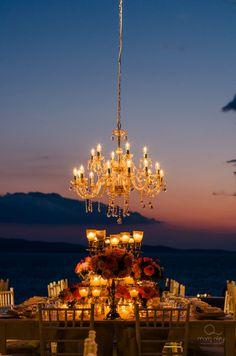 Casamento rústico chique, em Mykonos.