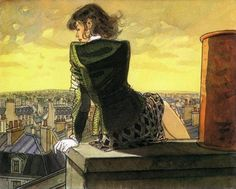 Illustration by Jean-Pierre Gibrat http://www.cuded.com/wp-content/uploads/2012/03/jean__pierre_gibrat2600_482.jpg