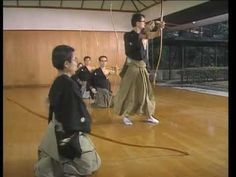 The official guidance of Kyudo - Part 1 - YouTube