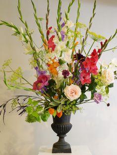 Lajoiedesfleurs.fr  glaïeuls fleurs  nouveaux classiques composition