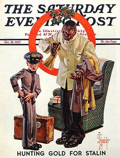 The Saturday Evening Post cover, 1937