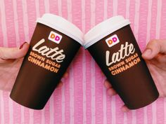 Share a Dunkin' Brown Sugar Cinnamon Latte with your special someone this Valentine's Day!