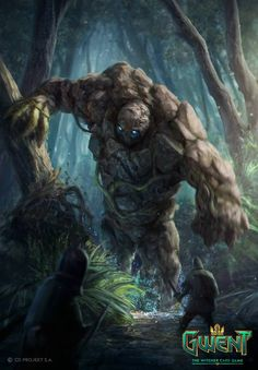 51 Enigmatic Forest Concept Art That Will Amaze You Witcher Monsters, Dnd Monsters, Scary Monsters, Dark Fantasy Art, Fantasy Artwork, Fantasy Character Design, Character Art, Fantasy Creatures, Mythical Creatures