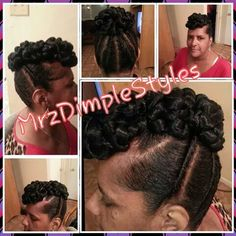 Rope Twist Bond With Flat Twists Updo Shared By Shaneria Mosley - http://community.blackhairinformation.com/hairstyle-gallery/updos/rope-twist-bond-flat-twists-updo-shared-shaneria-mosley/ #updo