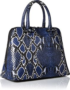 7efc71d01d10 Aldo Caltabellotta Satchel Bag, Navy Miscellaneous, One Size: Handbags:  Amazon.com