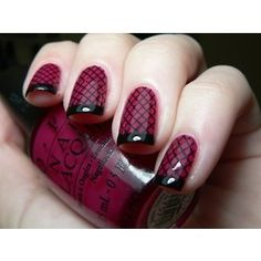 Burgundy nail designs have a trendy feel to them and are much adored by women of all age brackets. Whether young or old, Burgundy nails. Sexy Nails, Love Nails, How To Do Nails, Pretty Nails, Fun Nails, Color Nails, Style Nails, Gorgeous Nails, Nail Colors