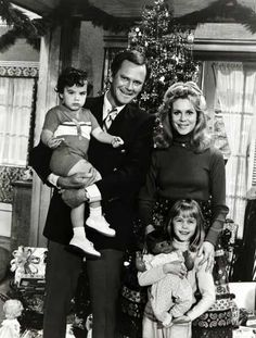 Bewitched Elizabeth Montgomery Dick Sargent Erin Murphy David Lawrence 1970