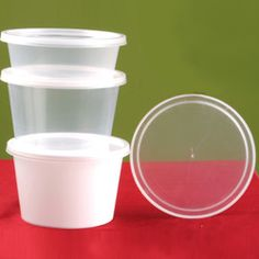 The easy lock containers are offered in a variety of capacities and in transparent white color. The range typically comes in square and round shape.