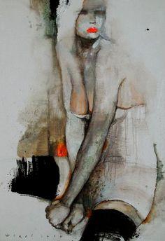 Kai Fine Art is an art website, shows painting and illustration works all over the world. Art Amour, Modern Art, Contemporary Art, Images D'art, Ouvrages D'art, Art Et Illustration, Abstract Painters, Art Moderne, Art Graphique