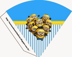 Despicable Me: Invitations and Party Free Printables.