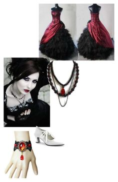 """""""Edith Irene Piper"""" by neroharley on Polyvore featuring Funtasma, women's clothing, women's fashion, women, female, woman, misses and juniors"""