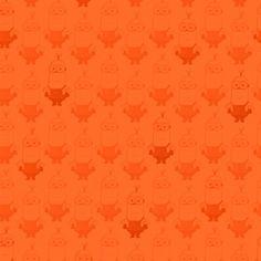 Cotton Fabric - Character Fabric - Minion Movie Kevin Tonal Blender Orange