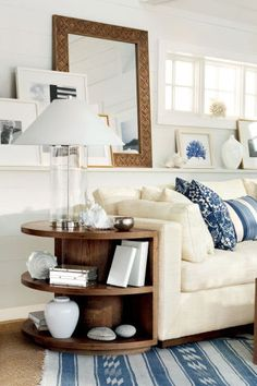 15 nautical home decor ideas and inspiration for the perfect sailor-chic decor.