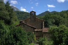 Abandoned village of Santuario do Muskilda Spanish Pyrenees
