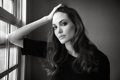 She is--and has been for awhile--my favorite actress. #AngelinaJolie #actress #beautiful
