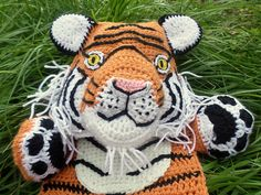 Ravelry: Maximus the Tiger Blankie pattern by Jenna Wingate