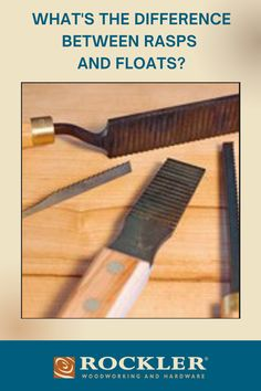 What's the difference between floats and rasps, other than the tooth patterns? Read now to learn what the difference is? #CreateWithConfidence #LearnWithRockler #Rasps #floats Rockler Woodworking, Woodworking Hand Tools, Wooden Plane, By Plane, Power To The People, Weekend Projects, Teeth Cleaning, Home Improvement Projects, Different