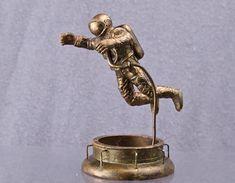 Spaceman Leonov Model 54mm Astronaut collectible statue Copper