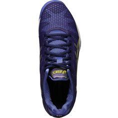 Asics Gel Solution Speed 2 Women's Tennis Shoe-Purple/Silver/Lime, E450Y 3393 Wo