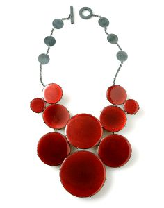 Daniel Kruger | necklace - Great for the holidays! Contemporary jewelry. www.siennagallery.com.