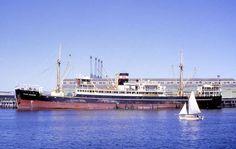 Pilar Regidor in Adelaide 1968. Ex MV Malaita.