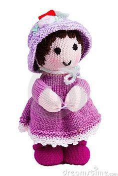 Poupée tricotée