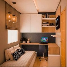 Floor To Ceiling Cabinets, Kid Beds, House Rooms, Space Saving, Guest Room, Office Decor, Small Spaces, Kitchen Cabinets, Interior Design