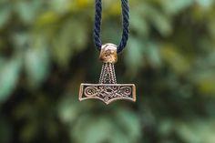 Scandinavian Mammen Style Thor Hammer Mjolnir Pendant