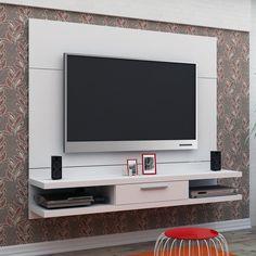 """Gostou desta Painel TV Até 60"""" 1 Gaveta Malton Branco - Madesa, confira em: https://www.panoramamoveis.com.br/painel-tv-ate-60-1-gaveta-malton-branco-madesa-5025.html"""