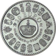 10 Euro Silber 75. Geburtstag von König Juan Carlos I PP