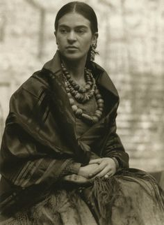 It Came With The Frame | Frida Kahlo by Edward Weston, 1930