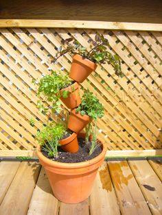11 Best Terra Cotta Pots Images Stacked Pots Backyard Patio