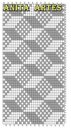 Trendy Ideas For Crochet Patterns Tapestry Knitting Charts Tapestry Crochet Patterns, Bead Loom Patterns, Cross Stitch Patterns, Knitting Charts, Knitting Stitches, Knitting Patterns, Swedish Weaving Patterns, Fillet Crochet, Crochet Chart