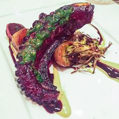 The food delicate and beautiful and this perfectly cooked octopus was one of the best recipe.   http://rootandrevel.com
