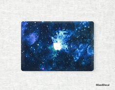 White Star on Wood Background Keyboard Decals by Moonlight Printing for 11 inch MacBook Air