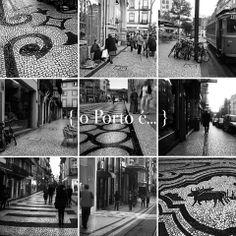 o Porto é... a calçada portuguesa
