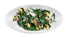4-5 ounce chicken breast 1-2 tbsp olive oil 2 tsp ground paprika 1 tsp cumin seeds 1⁄4 tsp ground coriander seed 2 tbsp sliced red onions 1 ripe mango, peeled and cut into large chunks 2 large handfuls of fresh spinach 1 tbsp lemon juice 1 tsp sea salt Preheat oven to 350 degrees. Place chicken breast in a baking dish and coat with olive oil, sea salt, paprika, cumin and coriander. Bake for 12 minutes or until fully cooked. Remove from oven and let cool on a cutting board. Once slightly…