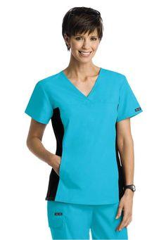 Cherokee Flexibles -crossover scrub top. - Scrubs and Beyond #solid, #scrubs, #uniforms, #nurse