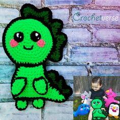 Free Crochet Dinosaur Ragdoll Pattern! - Crochetverse