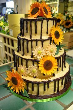 vintage wedding sunflowers - Google Search