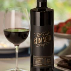 Meet your total dream wine. An intense red wine with bright berry flavors and a soft, lush texture. Red Wine, Plum, Alcoholic Drinks, Berries, Smooth, Dark, Bottle, Glass, Drinkware