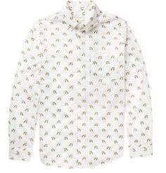 Club Monaco Printed Cotton Shirt | MR PORTER