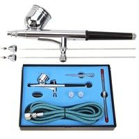 Wish | 0.2+0.3+0.5mm 7cc Full Airbrush Set 130K (Size: 0.65 kg, Color: Multicolor)