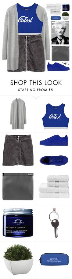 """CUTEST // my dream outfit rn"" by emmas-fashion-diary ❤ liked on Polyvore featuring Uniqlo, Maison Margiela, Christy, Institut Esthederm, Crate and Barrel and Wild & Wolf"