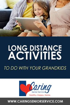 Long distance games will help keep phone calls between grandchildren and grandparents more interactive and engaging. Here are a few suggestions for long-distance games any grandparent and grandchild can play together. Elderly Activities, Activities To Do, Senior Services, Done With You, Long Distance, Grandkids, Connection, Gaming, Long Distance Love