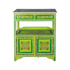 Hand-Painted Wagon Table