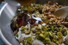 apricot pistachio granola