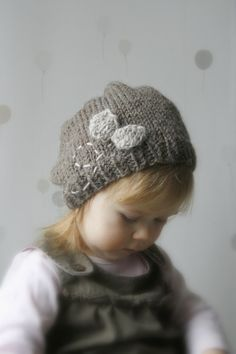 KNITTING PATTERN leg warmers and slouchy hat Fly by MukiCrafts