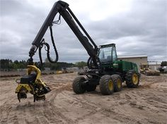 2008 DEERE 1270D Forestry Equipment - Processor / Harvester For Sale At MachineryTrader.com